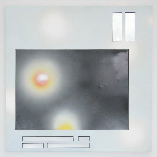 Han Schuil - Heat XV - 90x90x3cm Alkydverf en lak op aluminium