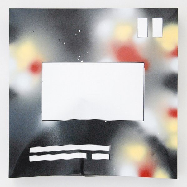 Han Schuil - Heat XVI - 85x85x15cm Alkydverf en lak op aluminium