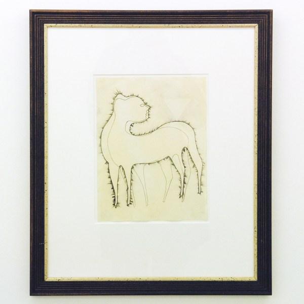 Hans Lemmen - Untitled - 24x31cm, Gewassen inkt tekening op geprepareerd papier