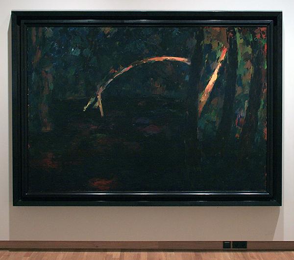 Hans van Hoek - Black Water - Olieverf op doek 1986