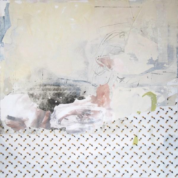 Harke Kazemier - Into the Night - 150x150cm Acrylverf en olieverf op doek, 2013
