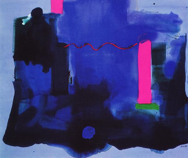 Helen Frankenthaler - ('80)