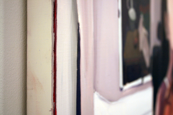 Helen Verhoeven - Mother 8 - 142x107cm Olieverf op canvas (detail)