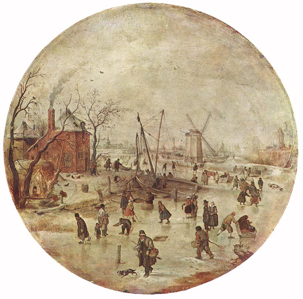 Hendrik Avercamp - Winterlandschap