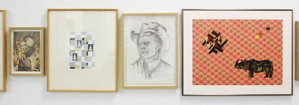 Hidde van Schie & Woody van Amen - Untitled - Collages, aquarellen en tekeningen