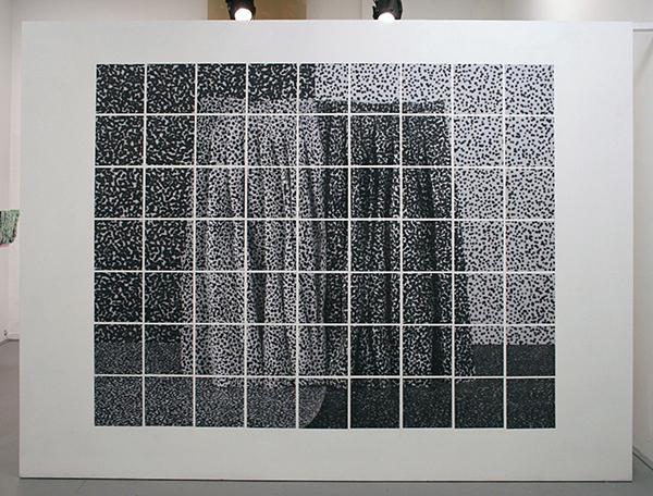 Ilona Plaum - Zonder Titel - Laserprint op papier