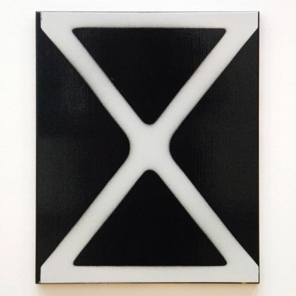 Isa Genzken - More Light Research (X) - Lakverf op doek