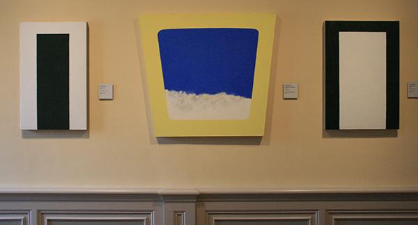 JCJ Vanderheyden - Staand Groen, Sky Window Blue Window & Groene Poort - Acrylverf op doek