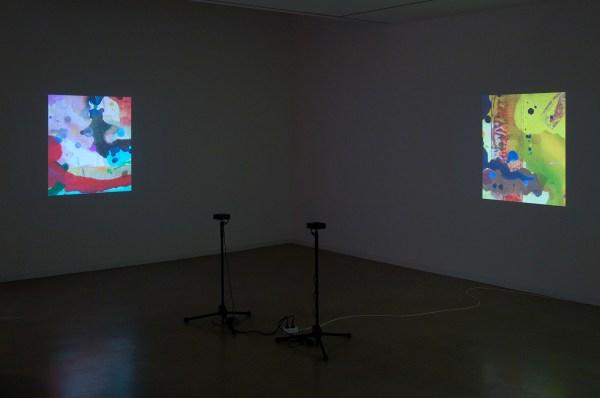 Jacco Olivier - Untitled (27) - 3,20minuten & Untitled (24) - 4,52minuten, HD Animatie loop