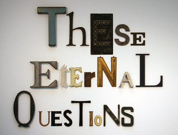 Jack Pierson - These Eternal Questions - 147x189x5cm