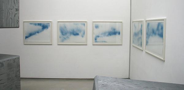 Jack Pierson - Untitled (Sky) - 57x77cm Acryllak op papier