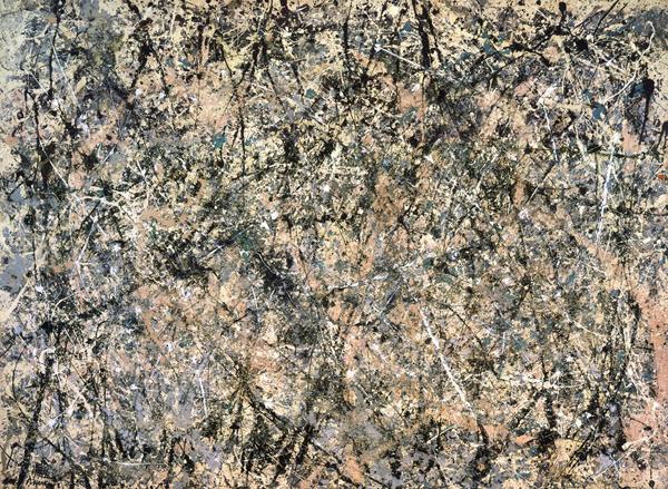 Jackson Pollock - Lavender Mist, painting I - 221x300cm