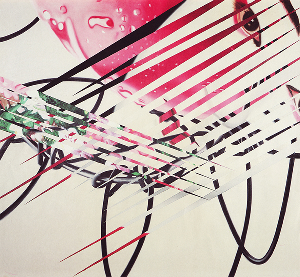 James Rosenquist - The Kabuki Blushes - Litho met acrylverf monoprint (1986)
