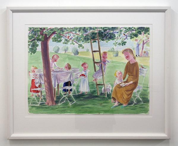 Jan Knap - Untitled - 43x60cm Inkt op papier