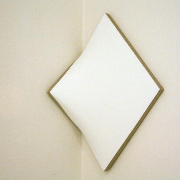 Jan Maarten Voskuil - Cornered Square - Acrylverf op linnen
