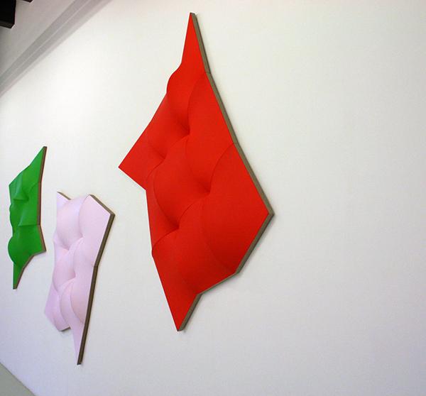 Jan Maarten Voskuil - Dynamic Monochromes - Acrylverf op linnen (zijaanzicht)