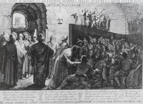 Jan Saenredam - Plato's Grot