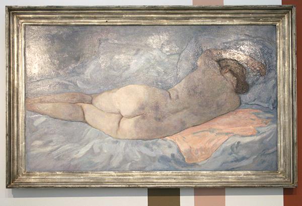 Jan Sluijters - Liggend Naakt - Olieverf op canvas 1931