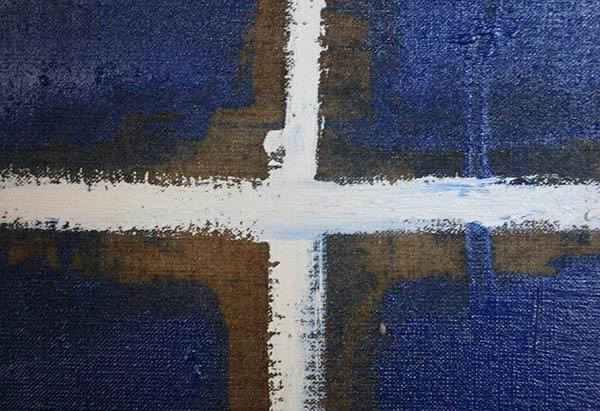Jan Wattjes - Playing Field - 200x150cm Olieverf op doek (detail)