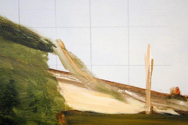 Jean-Marie Bytebier - Clairiere - 180x150cm Acrylverf op doek (detail)