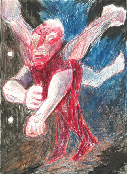 Jeffry Koopman - nr27 - 15x21cm Aquarel en kleurpotlood op papier, 2015