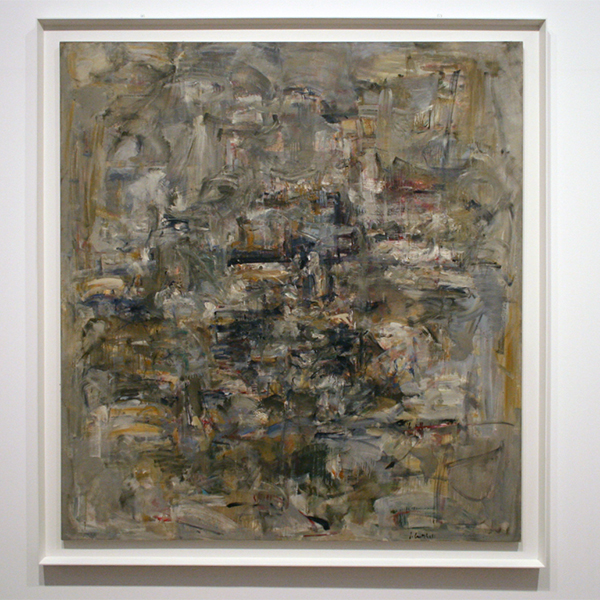 Joan Mitchell - Number 12 - Olieverf op canvas