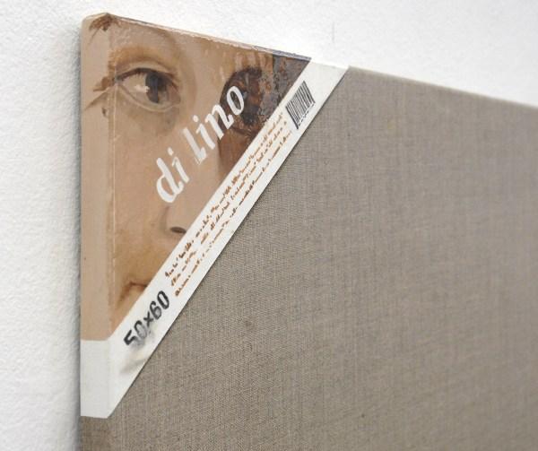 Jochen Muhlenbrink - o dilino puro & di lino - 60x50cm Olieverf en acrylverf op linnen (detail)