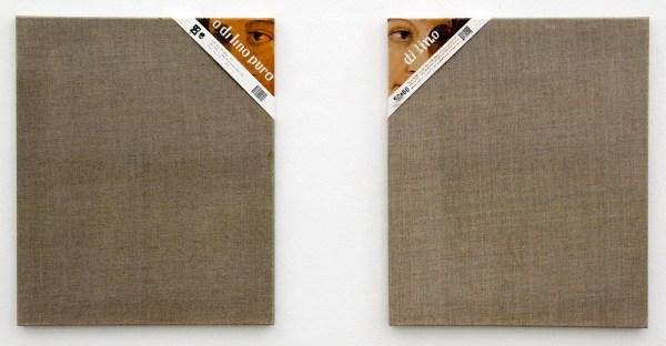 Jochen Muhlenbrink - o dilino puro & di lino - 60x50cm Olieverf en acrylverf op linnen