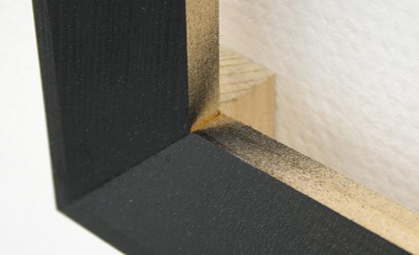 Joe Scalan - PH - 48x48x5cm Olieverf en lak op hout (detail)