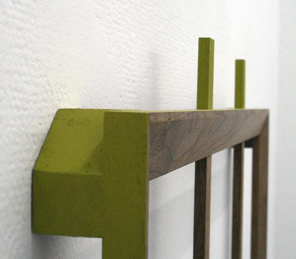 Joe Scalan - RA - 73x7x6cm Olieverf op hout (detail)