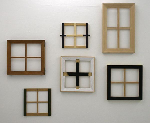 Joe Scalan - SL, TT, BN, AS, KM & PH - Diverse materialen op hout