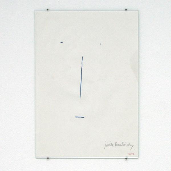 Joelle Tuerlinckx - Editie Mouvements - 30x20cm Potlood op papier