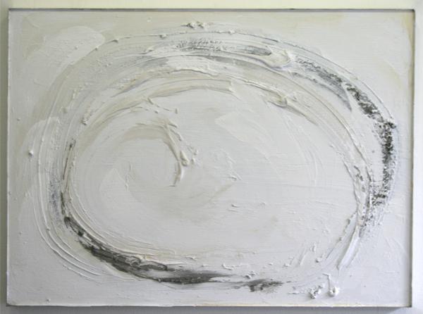 John O'Carrol - Source II - 110x150cm Gips