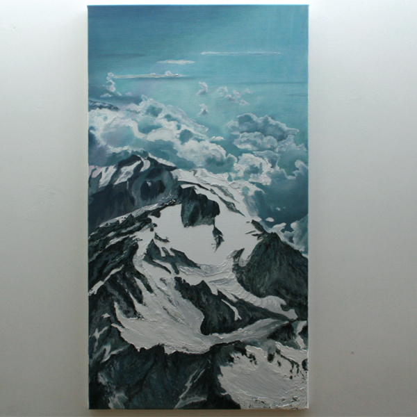 Joke Vrij - Sublimatie - 120x65cm Olieverf op linnen