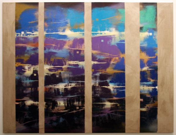 Joris Geurts - Zonder Titel - 150x170cm Olieverf en acrylverf op linnen