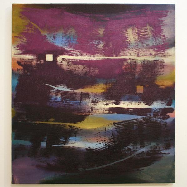 Joris Geurts - Zonder Titel - 55x50cm Olieverf en acrylverf op linnen