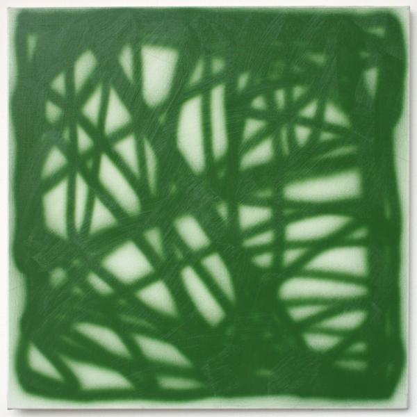Jos van Merendonk - Zonder Titel - Potlood en acrylverf op linnen