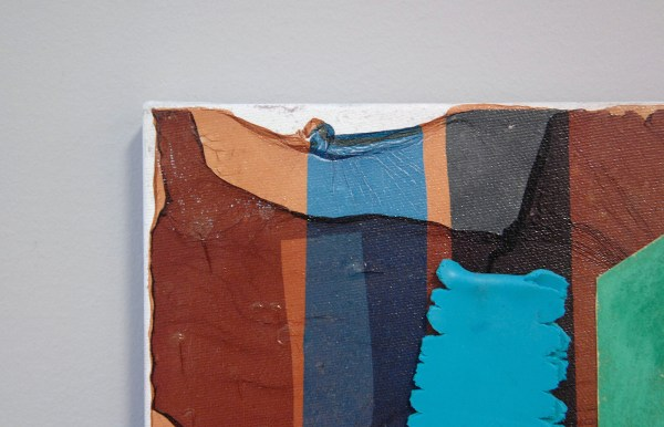 Joseph Montgomery - Image Three Twenty Five - 41x31x3cm Pastel, papier, klei en pigment transfer op linnen (detail)