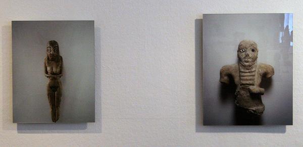 Kamer 5, Jean-Luc Moulene - Le Monde, Le Louvre - 24 Cibachromes achter diasec