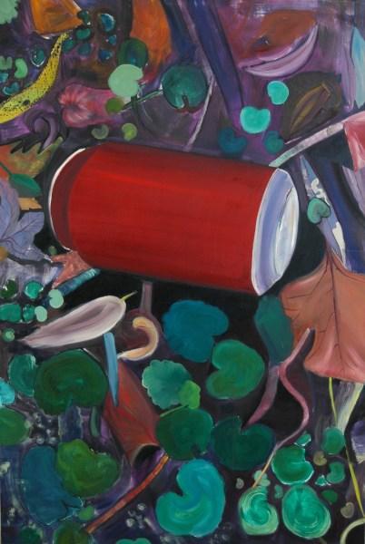 Kasia Mitan - Blikje -180x120cm Olieverf op linnen, 2014
