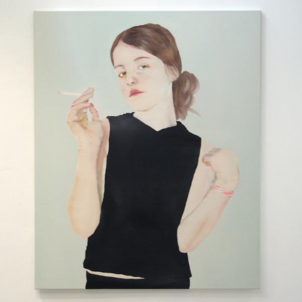 Katinka Lampe - Untitled (131627) - 160x130cm Olieverf op canvas