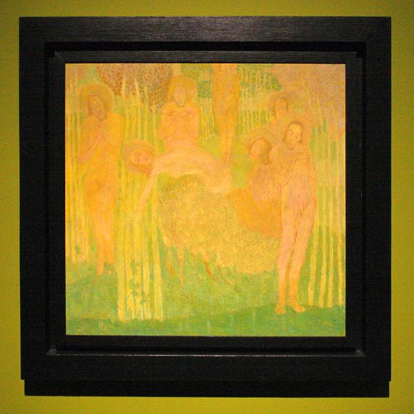 Kazimir Melevitsj - Studie voor een Fresco - Tempera op karton 1907