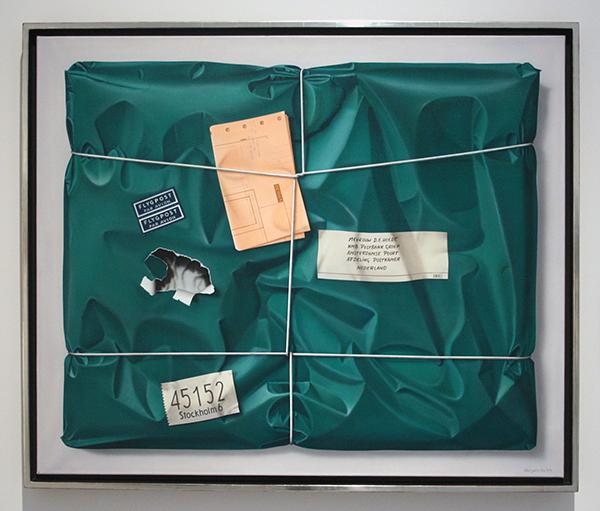 Kees Gerritse - Pakketpost - Olieverf op doek 1977