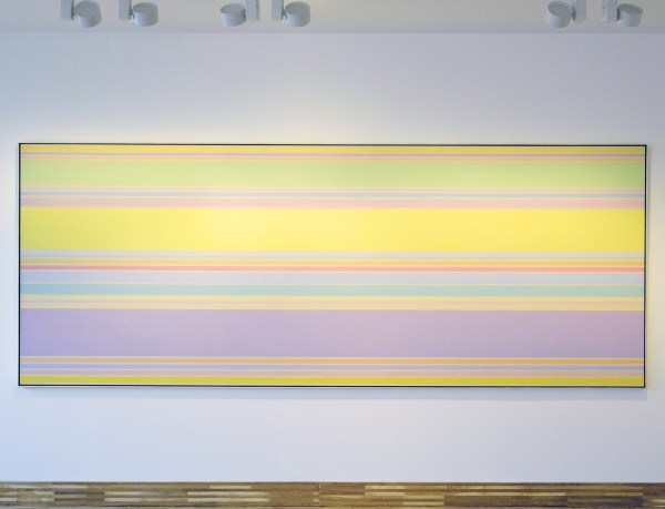 Kenneth Noland - Via Sheen - 149x386cm Acrylverf op doek