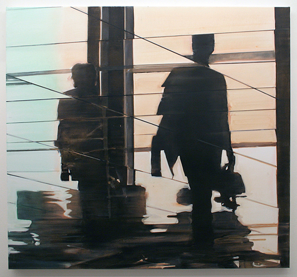 Koen Vermeule - The Arrival - 120x130cm Olieverf op canvas