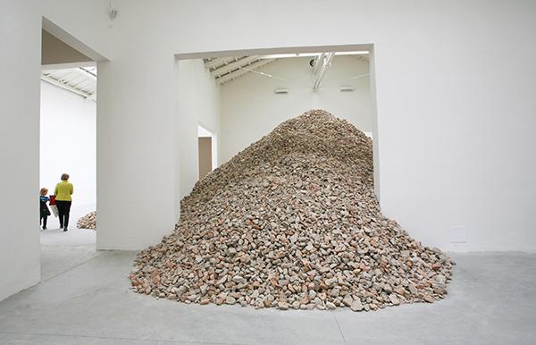 Lara Almarcegui, installation view
