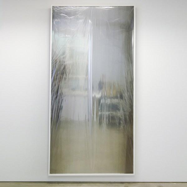Lennart Lahuis - Rooms2Rooms - 250x125cm Transparante folie op hout