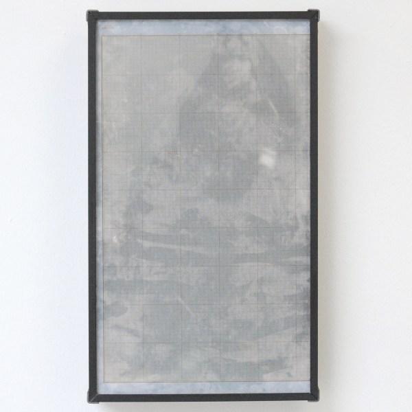 Lennart Lahuis - Tradition (girl) - 50x35cm Inkjet print op hout en bijenwas op papier