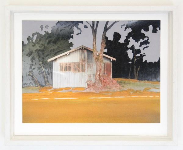Lisette Frimannslund - Day 11, 16,54,08 - 27x33cm Zeefdruk + Oostindische Inkt op Canon inkjet print