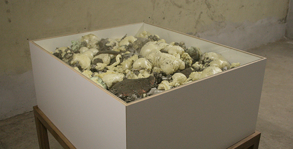 Loek Grootjans - Storage for Distorted Matter (obj 0010) 21th century sculpture masterpiece that could not be made - Object